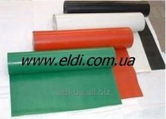 Fiber glass fabric with silicone 0,5kh1200mm color red