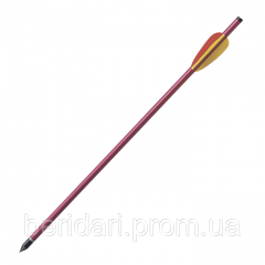 Алюминиевая стрела для арбалета 44 см , 9 мм AL16