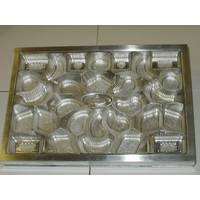 Production of compression molds (matrixes) for