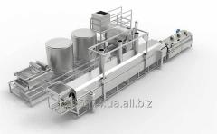 The line for the production of corn chips ÇRZ-2000