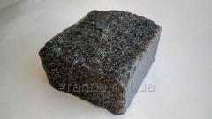 Брусчатка из гранита (габбро) колотая 10х10х5 см