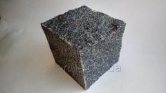 Stone blocks from granite (gabbro) of chipped