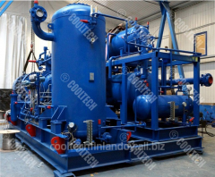 Gas-compressor installations