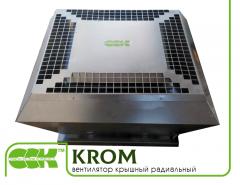 Крышный вентилятор KROM-5-0,52 радиальный малой высоты