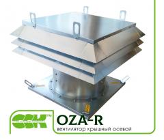 Вентилятор крышный  осевой OZA-R