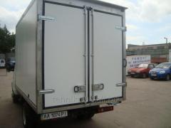 Isothermal body van