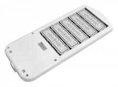 The LEDs lights