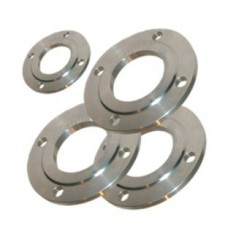 Flanges are flat