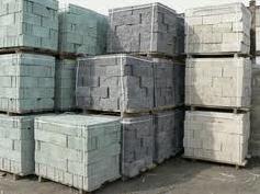 Blocks are peskobetonny