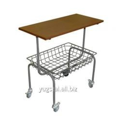 The cart sewing with a table and the TSh-R1 basket