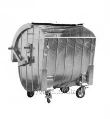 Контейнер для сбора ТБО с сферической стальной