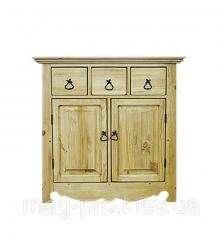 Dresser wooden, pine (natural tree)