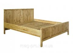 Bed wooden, pine (natural tree)