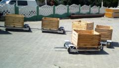 Садові візки, Садовие тележки