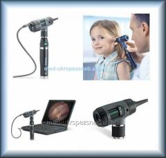 Digital otoscope of MacroView (Welch Allyn)