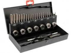 Набор метчиков М3-М12 32 предмета в металлической