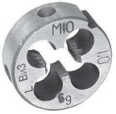 Плашка М10х0,5 левая, арт. 14367