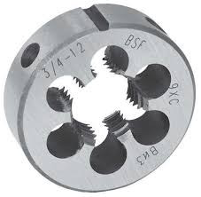 Плашка BSF 7/16 18 ниток/дюйм, арт. 14524