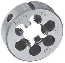 Плашка BSW 1/2 12 ниток/дюйм, арт. 14530