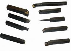 Резец проходной упорный изогнутый 25х16х140 Т5К10 2103-0007, арт. 15772