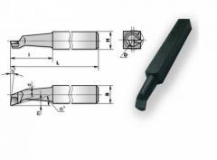 Резец расточной 20х20х170 ВК8 для сквозных отверстий 2140-0006, арт. 15799
