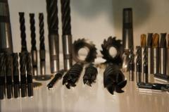 Фреза твердосплавная концевая 14х40х100 к/х винтовая, монолитная рабочая часть ВК8, арт. 19243