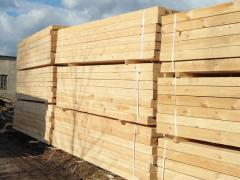 Bar wooden, rafters and logs of any sizes