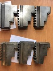 Комплект кулачков  к токарному патрону 160 мм