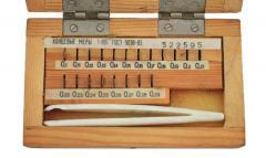 Набор концевых мер длины №10 кл.3,  арт....