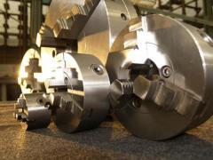 Патрон токарный ручной 7103-0045 -0044 /сталь/ 250