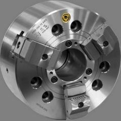 Механизированные токарные патроны со сквозным отверстием Bison-Bial