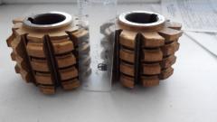Фреза червячная для шлицевых валов D 10х28х35 тип