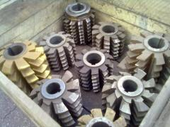 Mill worm for z/z t=12,7 D=7,75 2523-0037