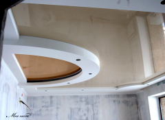 Глянсові натяжні стелі – бенкет фарб