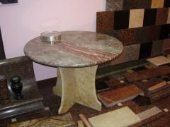 Мебель из природного камня