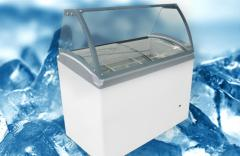 Freezer Showcases for Scooping M400SL