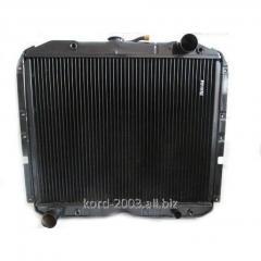 Радиатор  Урал 4320 водяного охлаждения.