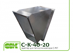Adapter adapter of C-K-40-20-45 for the C-PKT heatutilizer