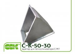Adapter adapter of C-K-50-30-45 for the C-PKT heatutilizer