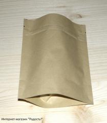 Package doy-pak Kraft paper