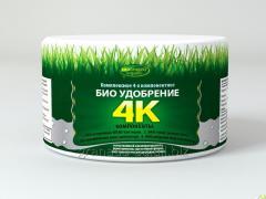 Биоудобрение 4К - для удобрения почвы