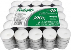 Candles are tea, the tablets Bispol 100 of pieces