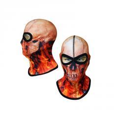 Балаклава с черепом Radical Subskull красная (original), маска, подшлемник