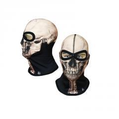 Балаклава с черепом Radical Subskull белая (original), маска, подшлемник