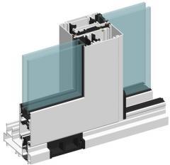 Термоизолированные подъемно-сдвижные конструкции ALT GS106