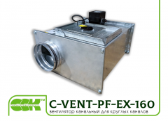 C-VENT-PF-EX-160-4-380 channel fan flameproof