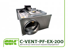 C-VENT-PF-EX-200-4-380 channel explosion-proo