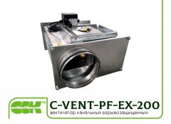 C-VENT-PF-EX-200-4-380 вентилятор канальный...