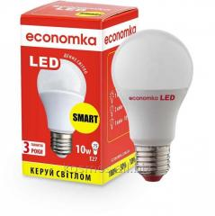 Clever LED lamp of Economka LED 10w of E27 SMART
