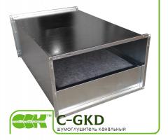 Шумоглушитель вентиляционный C-GKD-80-50